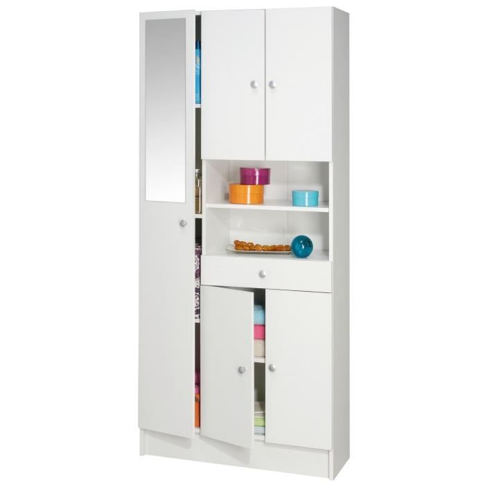 armoire rangement salle de bain