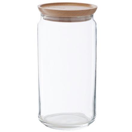 bocal en verre hermétique