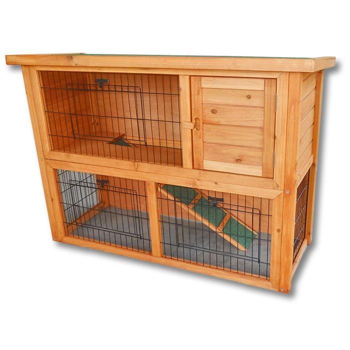 cage lapin en bois
