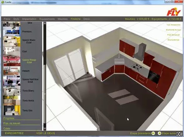 cuisine 3d en ligne