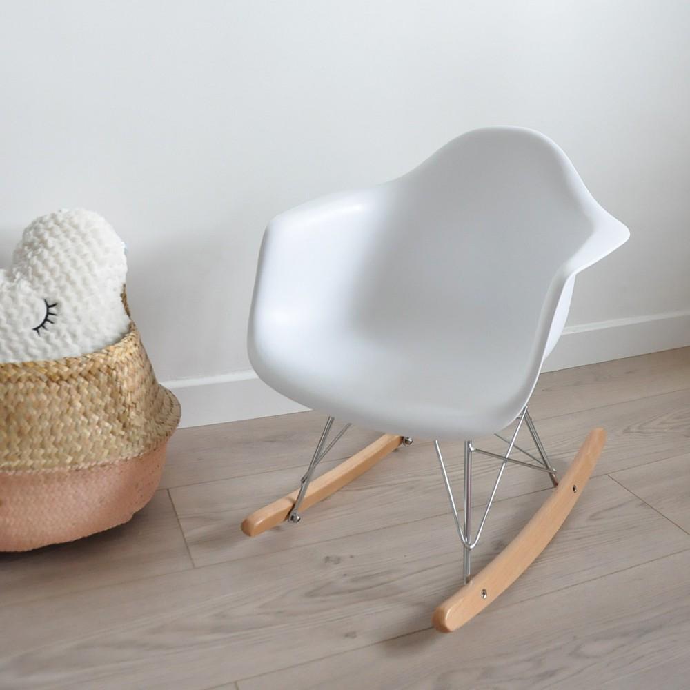 fauteuil bascule enfant