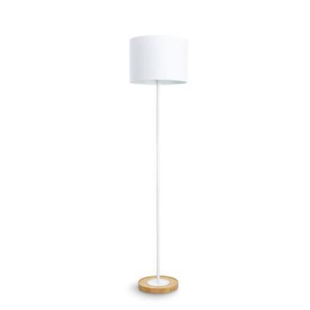 lampadaire blanc
