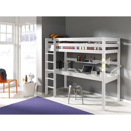lit mezzanine avec bureau