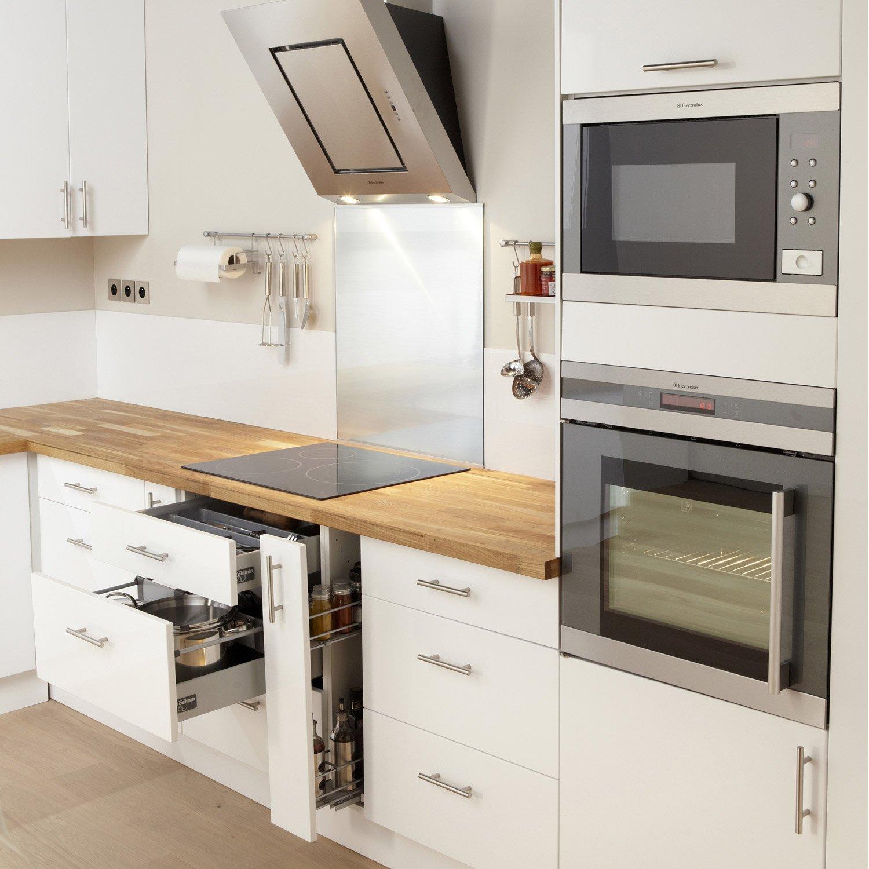 meuble cuisine blanc