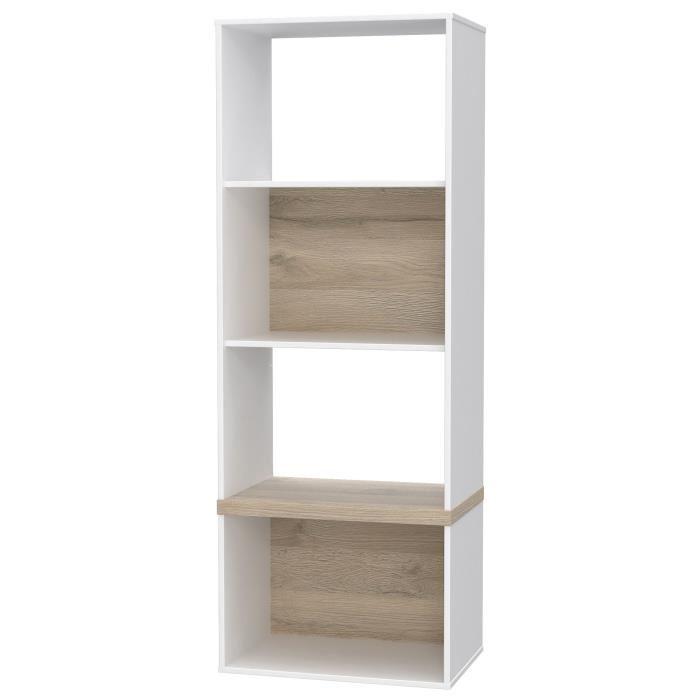 meuble etagere blanc