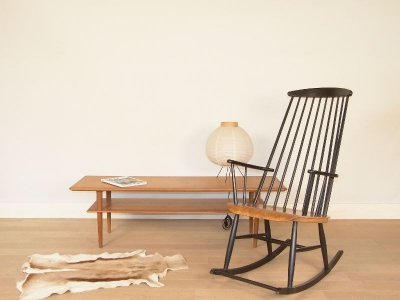 rocking chair scandinave
