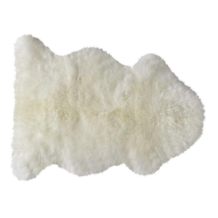 tapis en peau de mouton