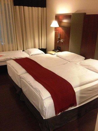 un lit double