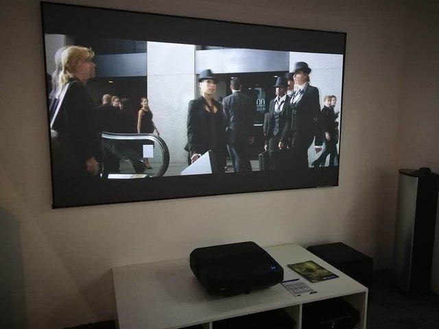 vidéoprojecteur ultra courte focale