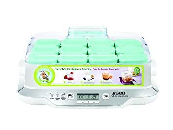 yaourtiere seb multi delice 12 pots