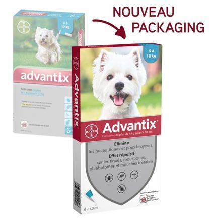 advantix chien effets secondaires