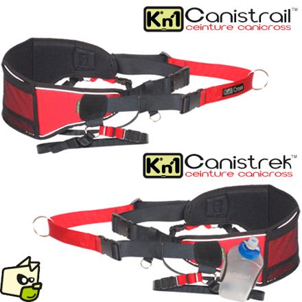 ceinture canicross decathlon