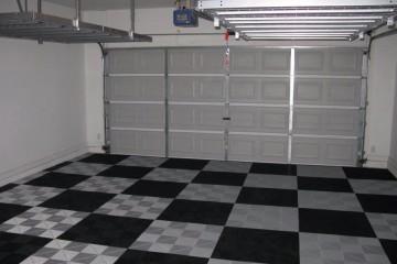dalles de garage clipsables
