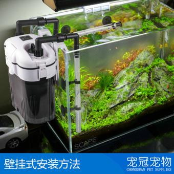 filtre exterieur aquarium silencieux