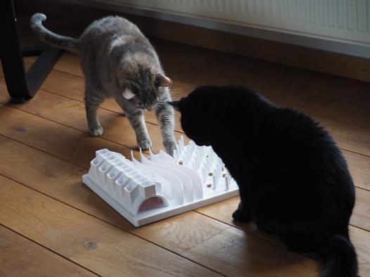 gamelle ludique chat