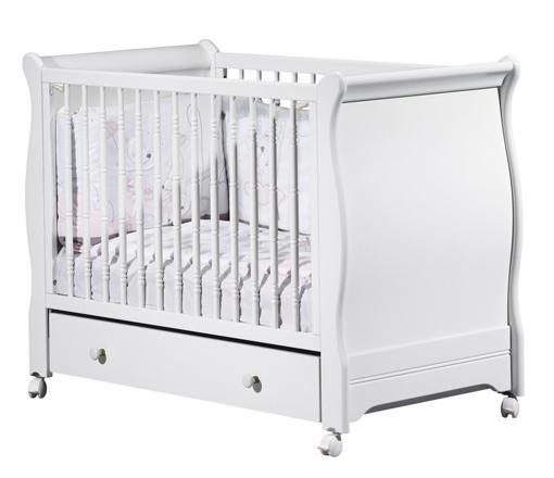 lit blanc bebe