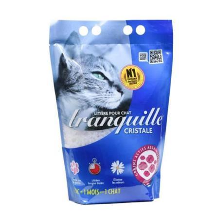 litiere chat cristaux