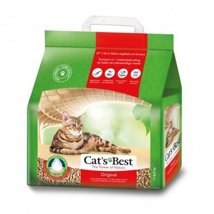 litière végétale pour chat