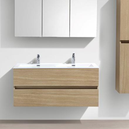 meuble salle de bain double vasque 120 cm