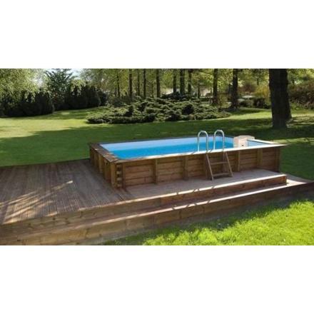 piscine rigide hors sol