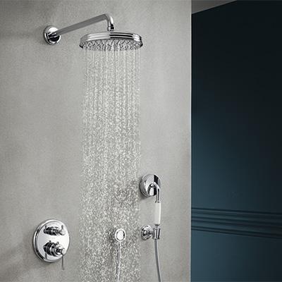 robinetterie douche encastree
