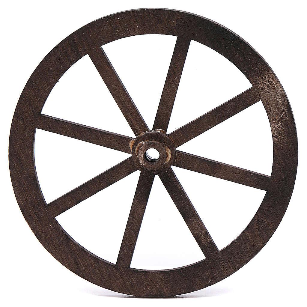 roue bois