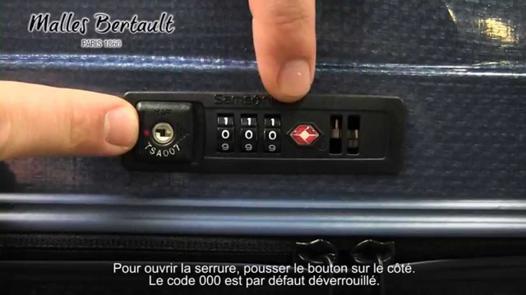 samsonite valise code