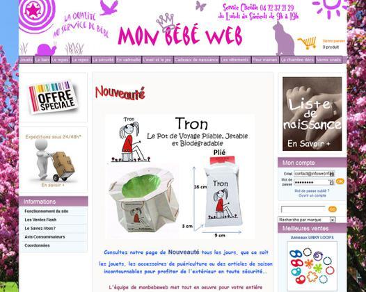 site de puericulture