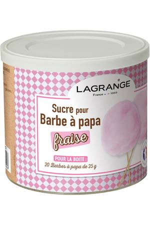 sucre barbe a papa