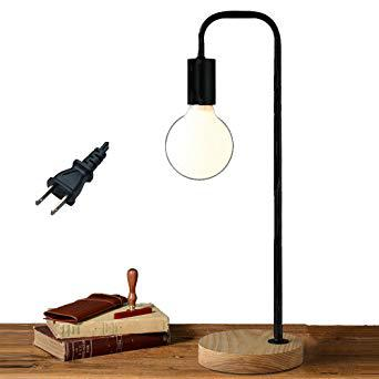 support lampe