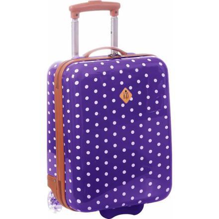 valise cabine violette
