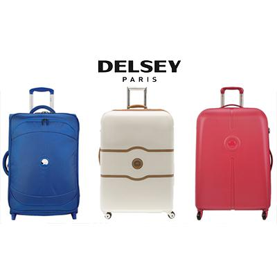 valise delsey promo