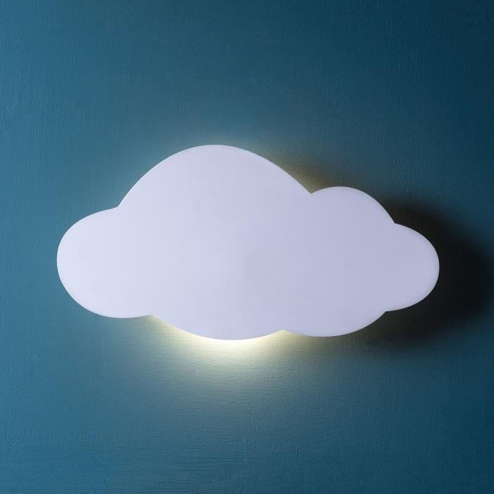 applique murale nuage