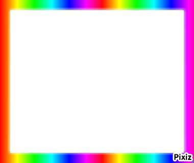 cadre multicolore