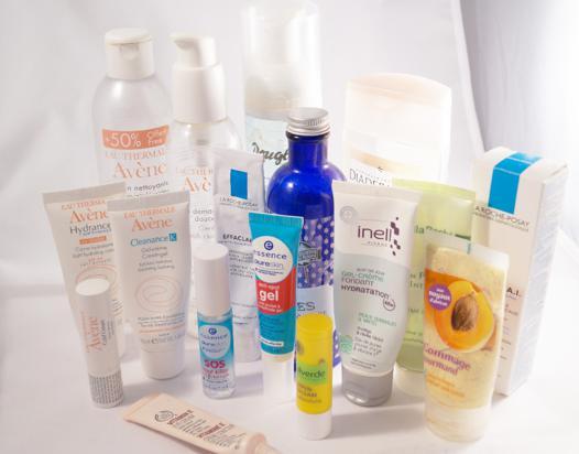 produit soin du visage