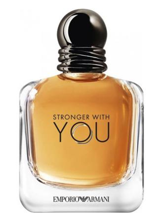 stronger with you armani