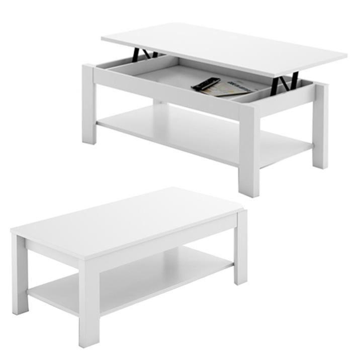 table basse reglable hauteur