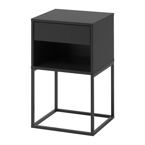 table chevet noir