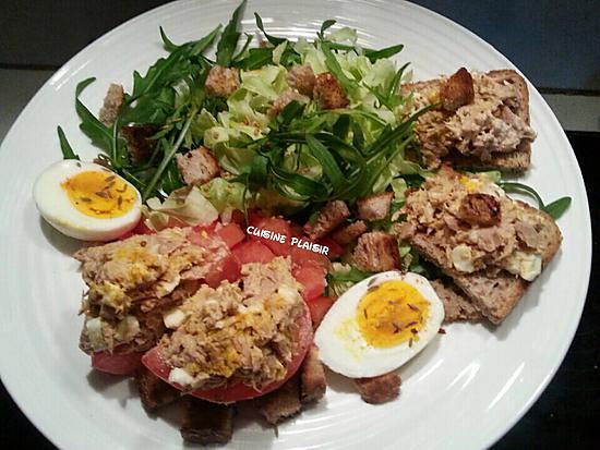 assiette salade