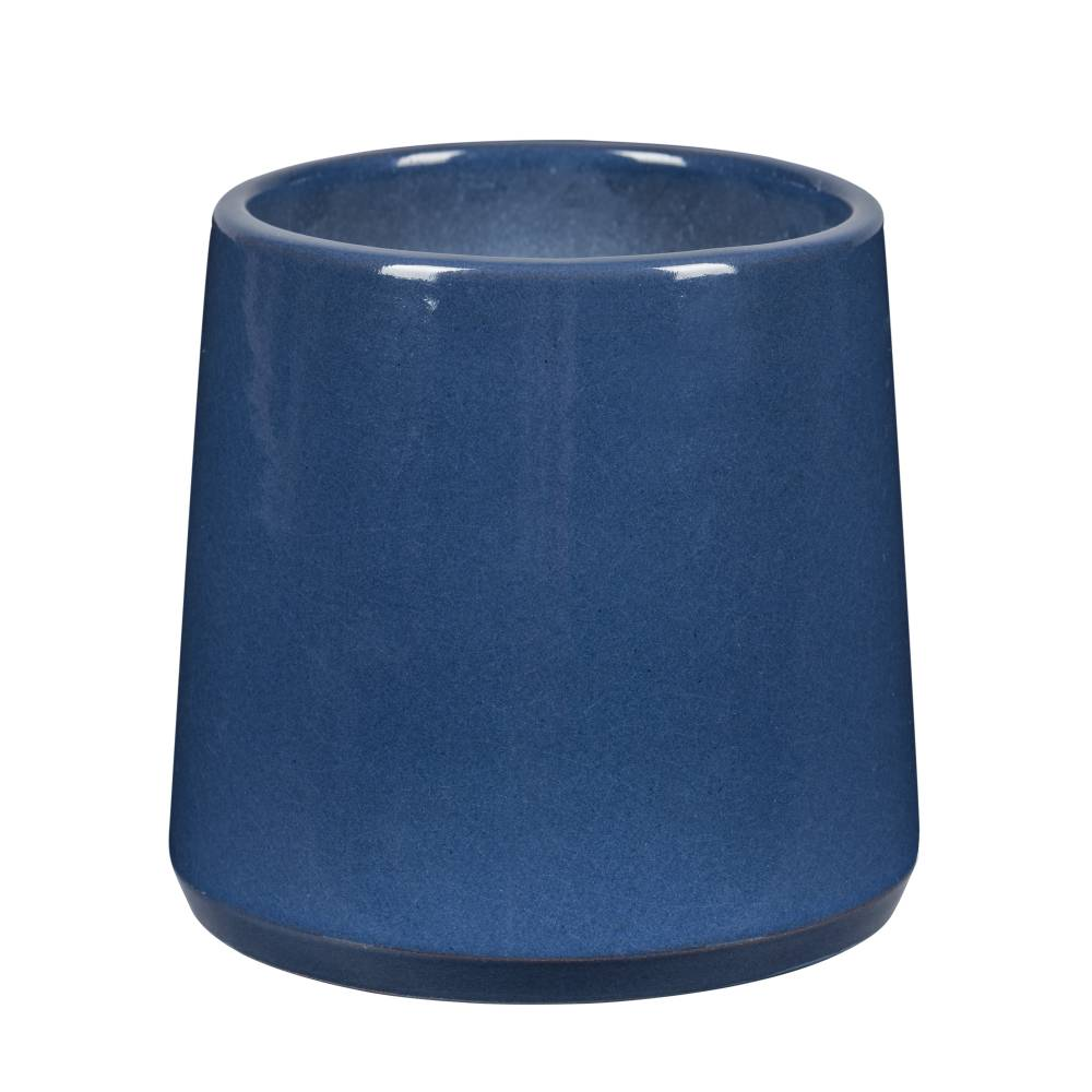 cache pot bleu