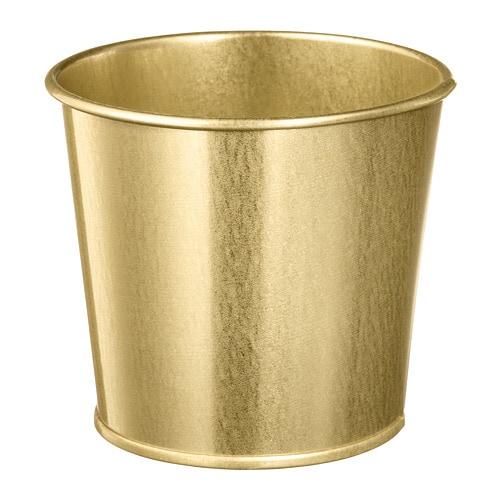 cache pot laiton