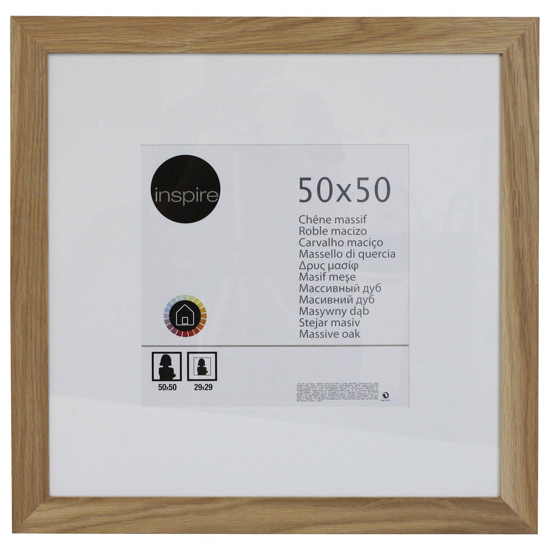 cadre photo 50x50