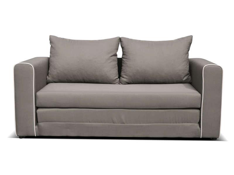 canapé tissu 2 places