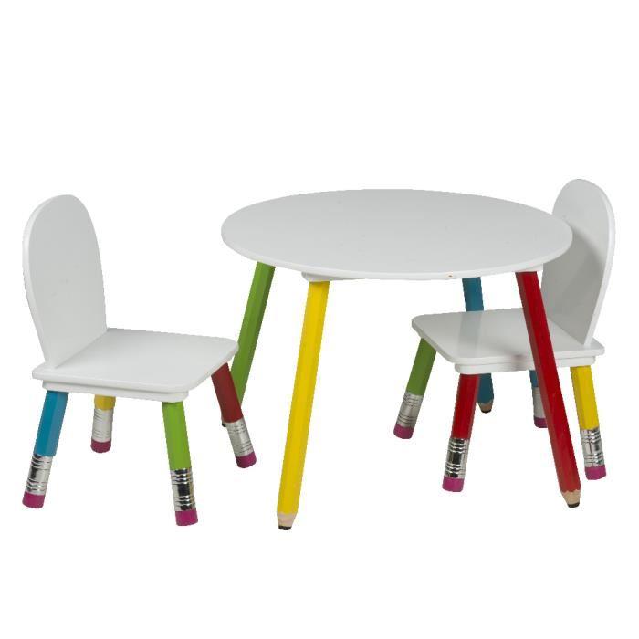 chaise enfant table