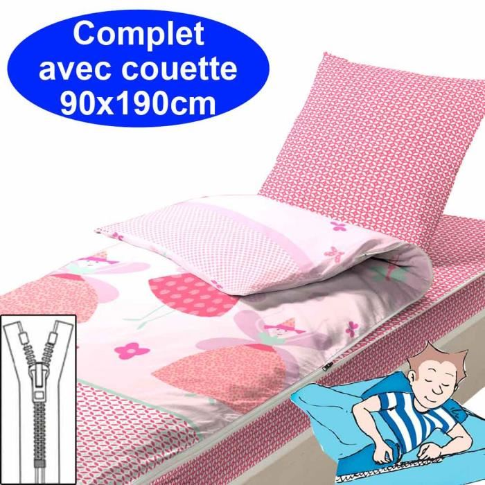 couette 90x190