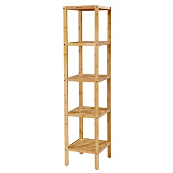 etagere bambou salle de bain