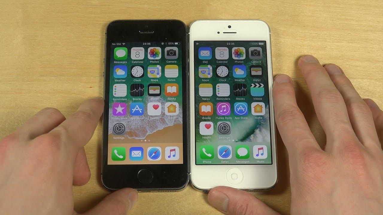 ios 11 iphone 5