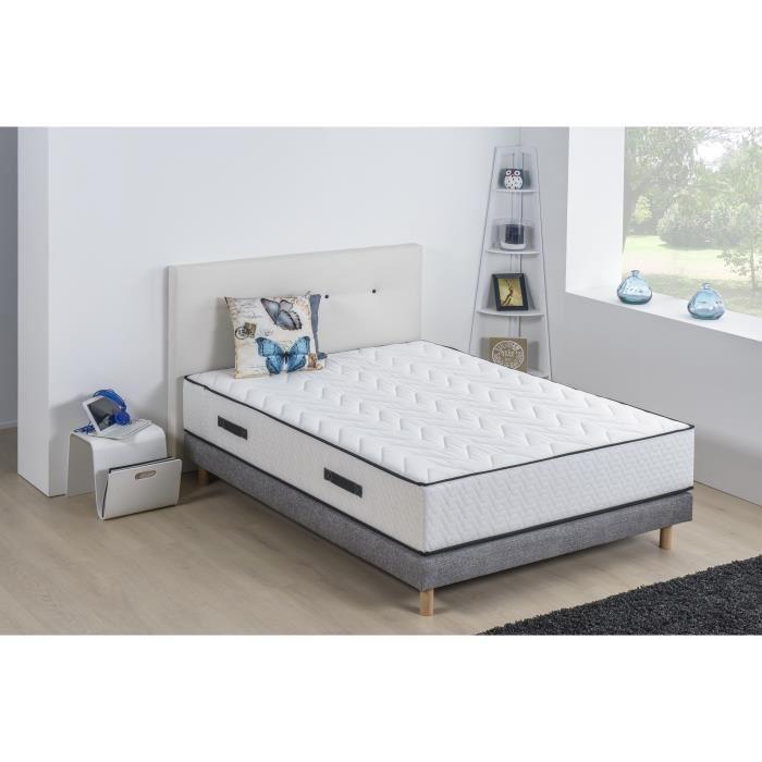 lit avec sommier et matelas