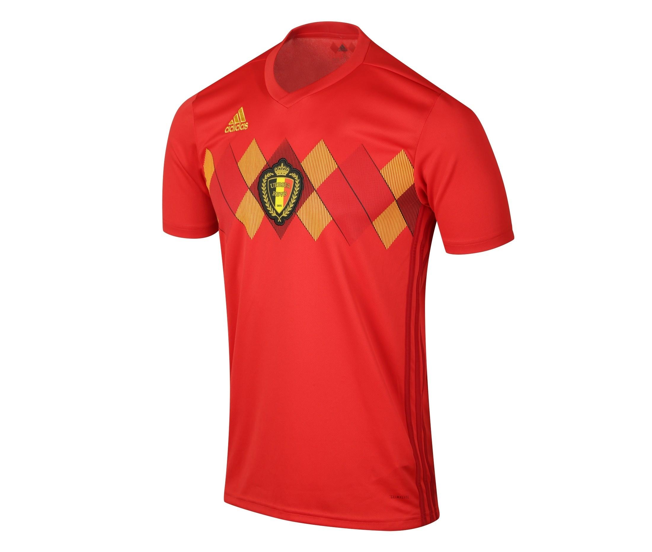 maillot belgique 2018