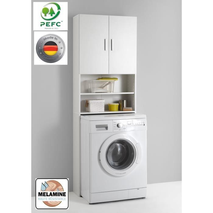 meuble dessus de machine à laver